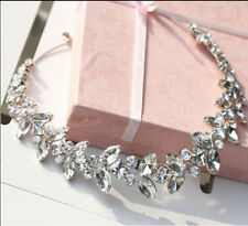 Silver Crystal Headband Wedding Rhinestones Bridal Hair Accessories Headwear NEW