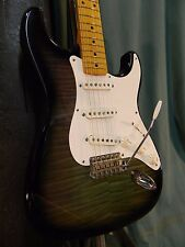 1993 Fender '54 RI Stratocaster Made in Japan Foto Flame Clean! V Neck w/case