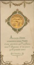 GENEALOGIE IMAGE RELIGIEUSE COMMUNION ? ANDRE GALLICE 1908