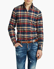 DSQUARED D2 MEN'S FLANNEL COWBOY SHIRT 50  BNWT 100% AUTHENTIC!