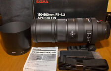 Sigma 150-500mm F5-6.3 APO DG OS - for Canon