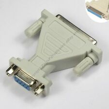 DB25~DB9pin Female~F Jack cable/cord/wire/port Adapter RS232 Serial $SHdisc {TN