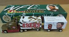 Football Steve Young San Francisco 49ers Semi-Truck Double Trailer Die-Cast 1:80