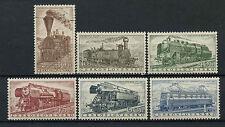 Czechoslovakia 1956 SG#946-951 Railway Locomotives England MNH/Used Set #A71410