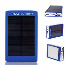 300000mAh Portable Solar Panel Battery Charger Power Bank Dual USB For Phones