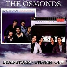 Brainstorm/Steppin' Out by The Osmonds CD Donny Osmond.