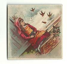 Old Trade Card Smith Yeager Hunter's Spring City Stoves Gas Fitter Roofing York