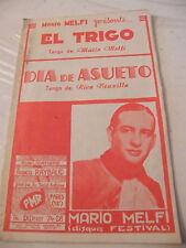 Partition El Trigo Mario Melfi Dia de asueto Rico Truxillo