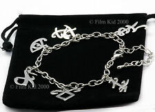 MORTAL INSTRUMENTS CHARM BRACELET ANGELIC RUNE JACE CLARY SHADOWHUNTER SYMBOL