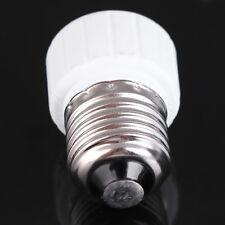 E27 to GU10 Socket Converter LED Halogen CFL Light Bulb Lamp Adapter White