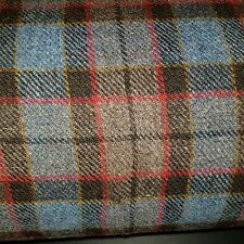 Harris Tweed cloth Fabric  75 x 50cms Fraser clan tartan plaid
