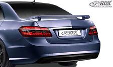 RDX Heckspoiler Mercedes E-Klasse W212 Heckflügel Heck Spoiler Flügel Hinten
