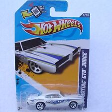 HOT WHEELS 2012 HW MAIN STREET '69 Pontiac GTO Judge BIRMINGHAM POLICE !!!  New!