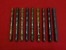 RANGA JAPAN STYLE EBONITE RIPPLE-THIN BAMBOO FOUNTAIN PEN-MDL4BS-SEVERAL COLOURS