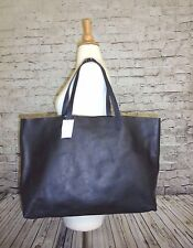 MADEWELL J CREW THE EAST - WEST TRANSPORT TOTE BAG NWT IN NAVY #F2479