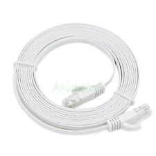 3M CAT6 RJ45 Ethernet Network LAN Interne Cable Flat UTP Patch Router DSL WHT