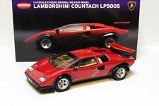 1:18 KYOSHO LAMBORGHINI COUNTACH lp500s Walter Wolf RED NEW in Premium-MODELCAR
