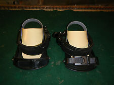 Nitro snowboard bindings Pair used for parts or repair