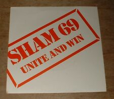SHAM 69 unite and win*i'm a man 1980 UK POLYDOR PS 45