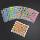 50 Sheets Nail Art 3D Stickers Flowers Design Manicure Tips Decal Decorations