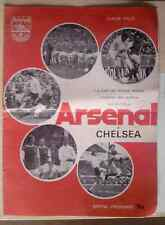 ARSENAL Vs CHELSEA 1973 OFFICIAL PROGRAMME! Nice!!!
