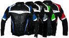 Biker moto chaqueta cazadora moto de cuero Talla S M L XL XXL 3XL 4XL 5XL