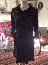 BRand New  Black Floral Madison Scotch Dress Size 10 (2) Rrp £85
