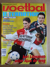 VOETBAL INTERNATIONAL 08-04-1998  Patricio Graff / Jari Litmanen  [P65]