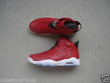 "Nike Air Jordan 6/VI Retro 45 ""Spizike"" Varsity Red/Classic Green-Black-White"