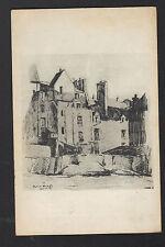 PARIS (V°) COLLEGE FORTET, MAISON dite à la CORNE DE CERF illustré Edmond ZEIGER
