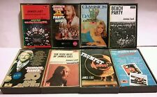 RARE VINTAGE - JAMES LAST ORCHESTRA 8 CASSETTE TAPE SET - EURO POP DISCO POLYDOR