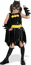 Girls Deluxe Batgirl Costume Superhero Justice League Halloween Size Medium 8-10