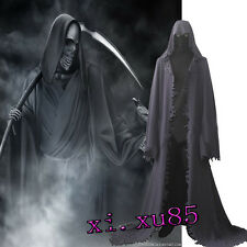 HOT COS Grim Reaper Cosplay Costume Customize Only the Cape Halloween Robe