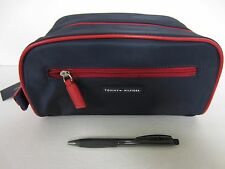 TOMMY HILFIGER Navy/Red Travel Kit Bag NWT