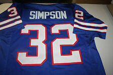 BUFFALO BILLS O.J. SIMPSON #32 CUSTOM THROWBACK HOME JERSEY SIZE LARGE HEISMAN
