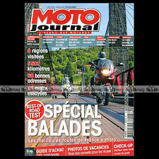 MOTO JOURNAL N°2012 PHOTOS DE VACANCES 8 Road-Test sur mesure - Alexis AUBERTIN