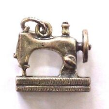 Vintage Sterling Silver Sewing Machine Charm
