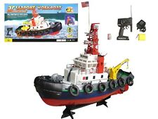 "20"" Radio Remote Control Electric Seaport Tug Boat RC Working Boat R/C RTR"