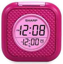 Alarm Clock, Vibrating, Pink, Wake to Vibration or Beep Alarm, SPC562i