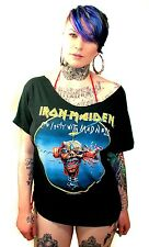 Vtg Iron Maiden Tshirt 1988 Tour Metal Thrash Motorhead Slayer Metallica