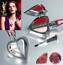 100% Auténtico Ltd Edition YSL Swarovski Amor Colección Maquillaje Joya Collar