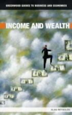 Income and Wealth (Greenwood Guides to Business and Economics)-ExLibrary