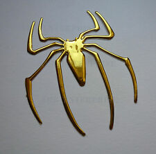 GOLD Chrome Effect Spider Badge Decal Sticker for Ford Fiesta Focus Mondeo KA ST