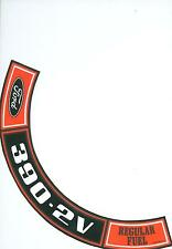 1970 1971 FORD TRUCK  390-2V  AIR CLEANER DECAL