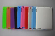 New iPad 3 4th Gen TPU Gel companion mate Case compatible with Apple Smart Cover