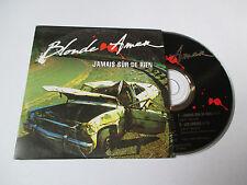 Blonde Amer - jamais sûr de rien - cd single 2 titres 1993