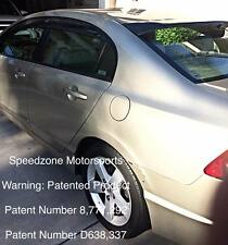 Civic 06 07 08 09 10 11 4dr SZRear Roof Visor Spoiler Ducktail With Brackets