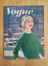 Vintage Vogue Pattern Book February - March 1959