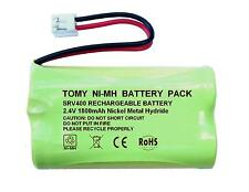 Tomy srv400 Digital Video Baby Monitor 2.4 v 1800mah batería recargable NiMH Reino Unido