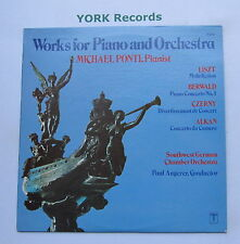 TV 34740 - WORKS FOR PIANO & ORCHESTRA - Liszt / Berwald PONTI - Ex LP Record